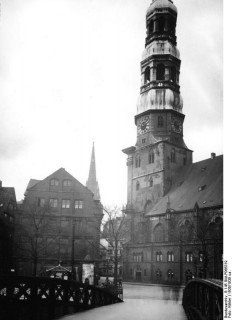 St. Katharinen Hamburg © Bundesarchiv